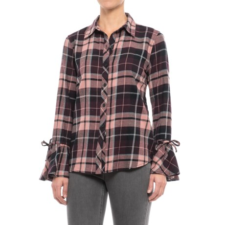 Beach Lunch Lounge Natalia Flannel Shirt - Long Sleeve (For Women)