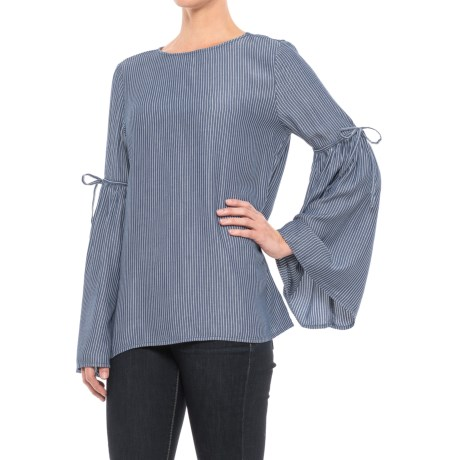 Beach Lunch Lounge Harlow Shirt - Scoop Neck, Long Sleeve (For Women)