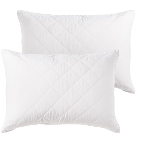 Sealy Posturepedic Posturepedic® Quilted Gel Fiber Bed Pillows - Jumbo, 2-Pack