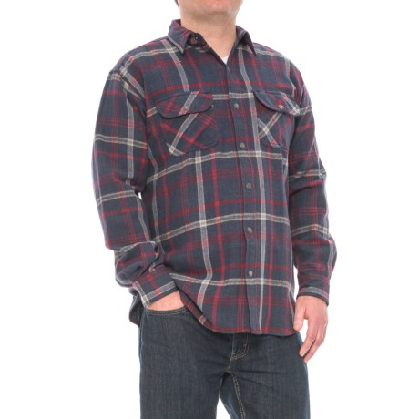 Canyon Guide Outfitters Brooks Flannel Shirt - Snap Front, Long Sleeve (For Men)