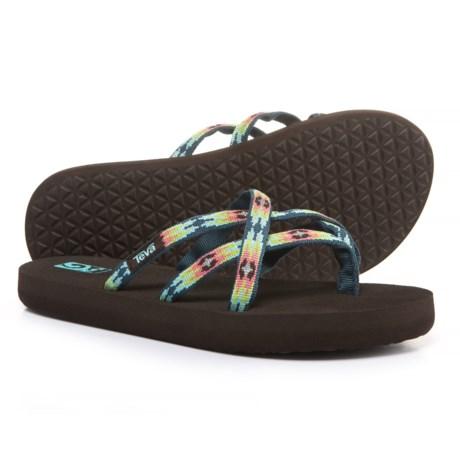Teva Olowahu Mush® Flip-Flops (For Girls)