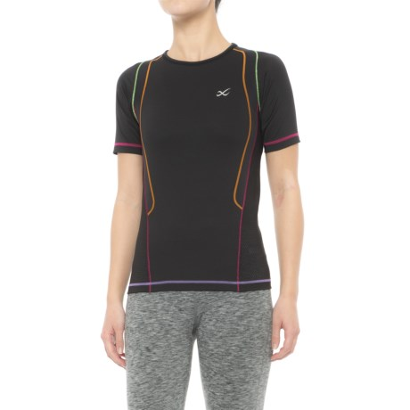 CW-X Ventilator Web T-Shirt - UPF 50+, Short Sleeve (For Women)