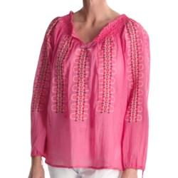 Tyler Boe Woodstock Shirt - Embroidered Cotton, Long Sleeve (For Women)