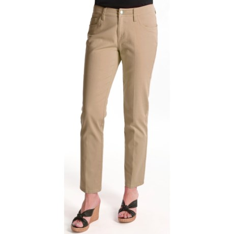 Tyler Boe Stretch Cotton Ankle Pants - 5-Pocket (For Women)
