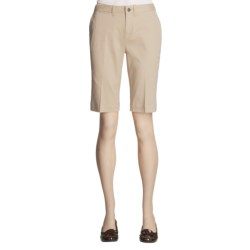Tyler Boe Twill Shorts - Stretch Cotton (For Women)