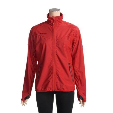 Mammut Rash Soft Shell Jacket - Windstopper® (For Women)
