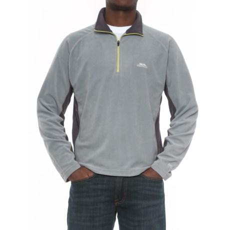 Trespass Fleece Jacket - Zip Neck (For Men)
