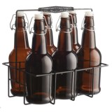 Circle Glass iBrew Bottle and Caddy Set - 7-Piece
