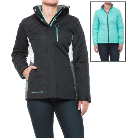 Free Country Radiance Systems Jacket - Insulated, 3-in-1 (For Women)