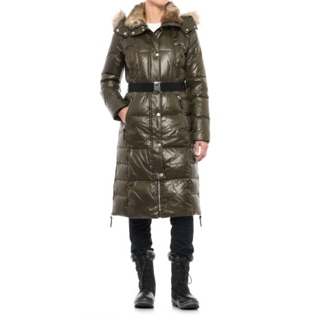 Marc New York Liz Belted Down Coat (For Women)