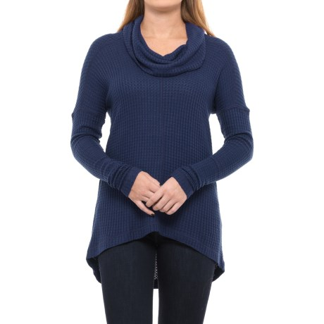 Lucky Brand Cowl Neck Thermal Shirt - Long Sleeve (For Women)