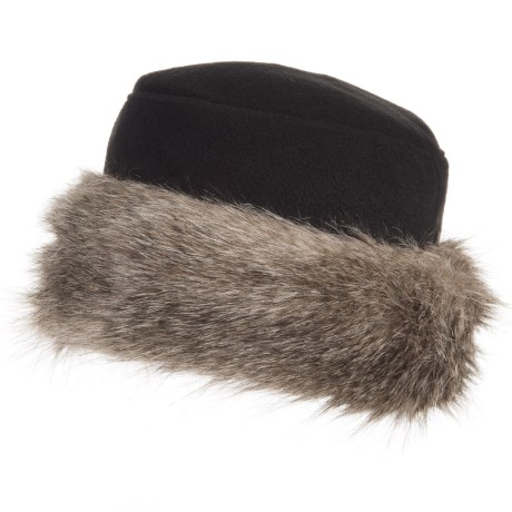Parkhurst Kenya Faux-Fur-Trimmed Hat (For Women)