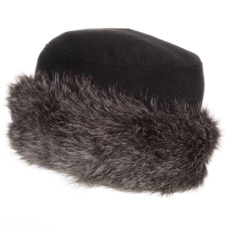 Parkhurst Kenya Faux-Fur-Trimmed Hat (For Women)