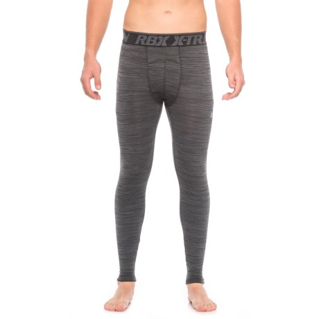 RBX Double-Knit Quilted Compression Base Layer Pants (For Men)