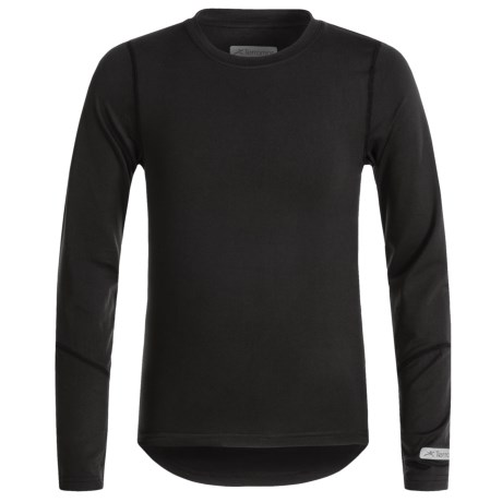 Terramar Thermolater 2.0 ClimaSense® Base Layer Top - UPF 50+, Long Sleeve (For Kids)