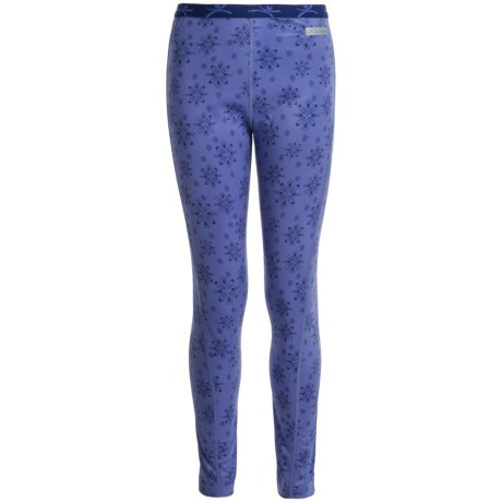 Terramar Genesis 3.0 ClimaSense® Fleece Base Layer Pants - UPF 50+ (For Kids)