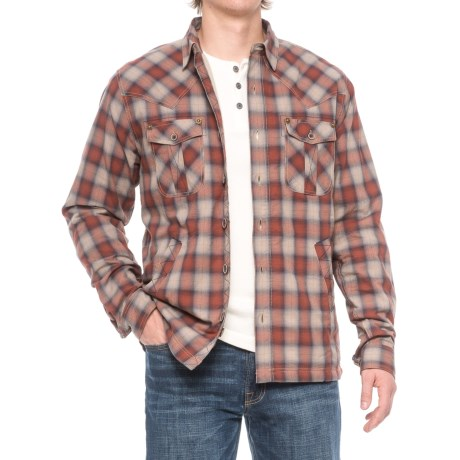 Ecoths Cooper Shirt Jacket - Organic Cotton (For Men)
