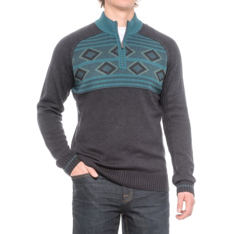 Ecoths Zane Sweater - Merino Wool (For Men)