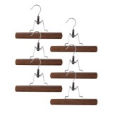 Richards Homewares Pant Clamp Hangers - Set of 6