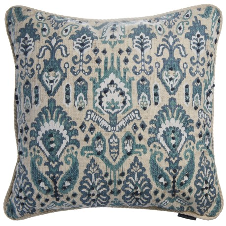 "Cynthia Rowley Deya Decor Pillow - 20x20"", Duck Feathers"