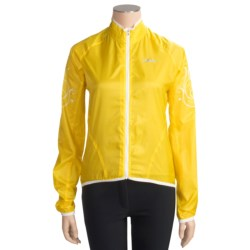 Shebeest Cascade Windshell Cycling Jacket (For Women)