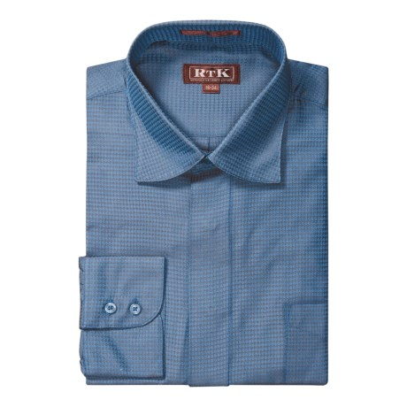 RTK Shirts Silk Dress Shirt - Spread Collar, Long Sleeve (For Men)