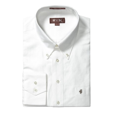 RTK Shirts Royal Oxford Weave Shirt - Button-Down Collar Long Sleeve (For Men)