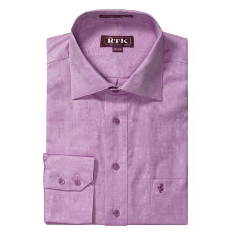 RTK Shirts Royal Oxford Dress Shirt - English Spread Collar, Long Sleeve (For Men)