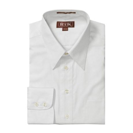 RTK Shirts Royal Oxford Dress Shirt - Cotton, Point Collar, Long Sleeve (For Men)