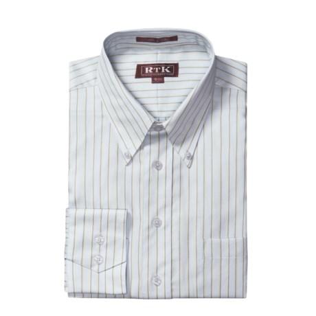 RTK Shirts Button-Down Collar Dress Shirt - Cotton, Long Sleeve (For Men)