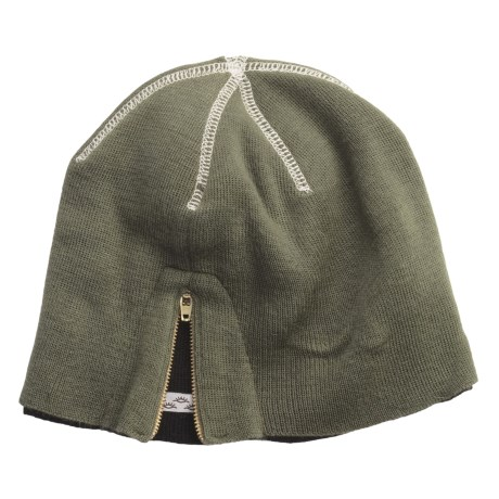 Cov-Ver Side-Zip Beanie Hat (For Men and Women)