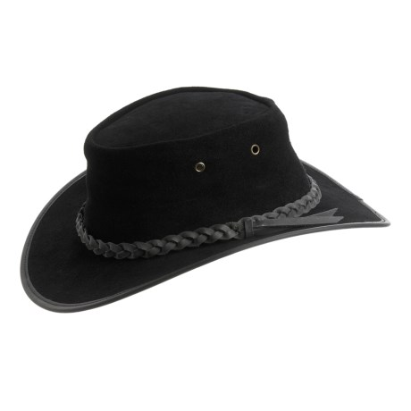 Cov-Ver Aussie Outback Hat - Suede (For Men and Women)