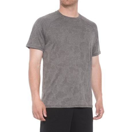 RBX X-Train Jacquard Mesh Raglan Shirt - Short Sleeve (For Men)