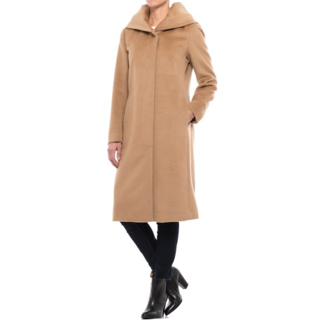 Cole Haan Wool Coat - Shawl Collar (For Women)