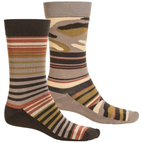 Magellan Outdoors Lifestyle Socks - 2-Pack, Crew (For Men)