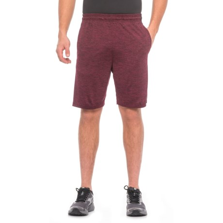 """RBX Active Double-Dye Striated Training Shorts - 9"""" (For Men)"""