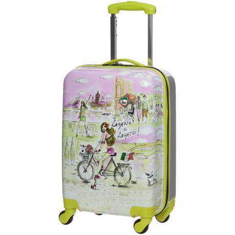 "Mia Toro Izak Italy Spinner Suitcase - Hardside, 19"""