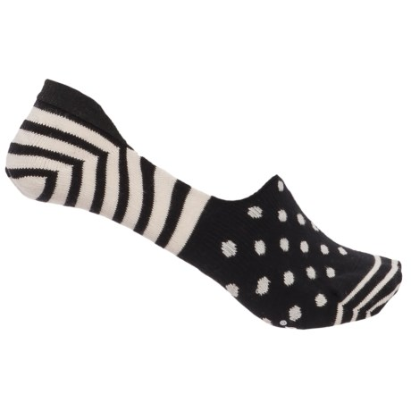 Happy Socks Stripe and Dot Combed Cotton Socks - Below the Ankle (For Women)