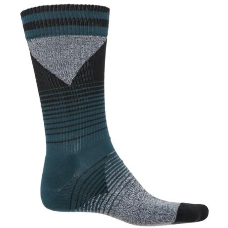 Happy Socks '80s Fade Combed Cotton Socks - Crew (For Men)