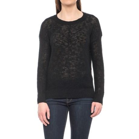 Kenar Textured Stitch Sweater - Linen-Cotton (For Women)