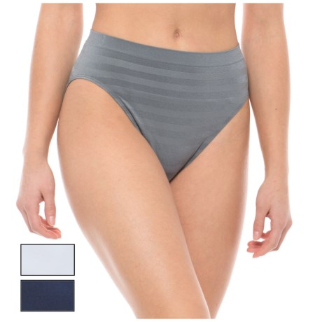 Nouvelle Seamless Panties - High-Cut, 3-Pack (For Women)