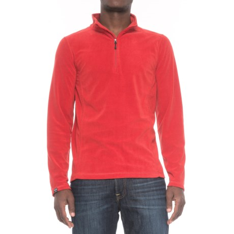 Storm Creek Lars Fleece Shirt - Zip Neck, Long Sleeve (For Men)