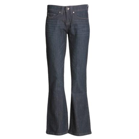 Lee Stretch Dark Denim Jeans - Bootcut (For Women)