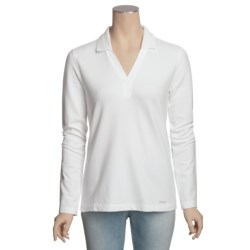 Filson V-Neck Shirt - Stretch Pique Cotton, Long Sleeve (For Women)