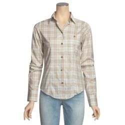 Filson Prairie Cotton Plaid Shirt - Long Sleeve (For Women)