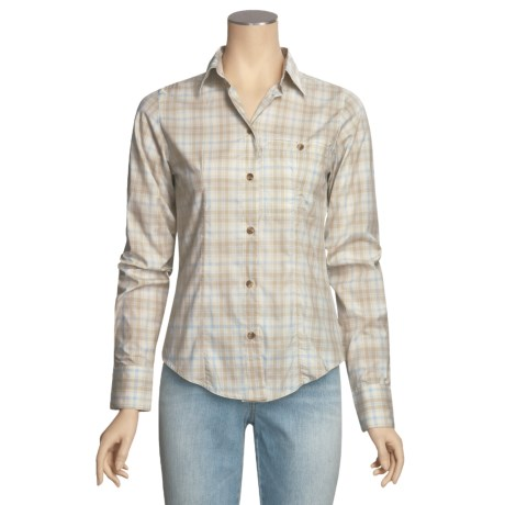 Filson Prairie Cotton Plaid Shirt - Long Sleeve (For Women)