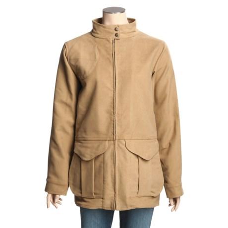 Filson Cotton Moleskin Shooting Jacket (For Women)