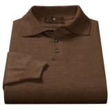 Toscano Polo Sweater - Italian Merino Wool (For Men)