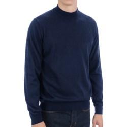 Toscano Mock Turtleneck Sweater - Italian Merino Wool (For Men)