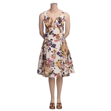 Madison Leigh Floral Print Dress - Cotton, Sleeveless